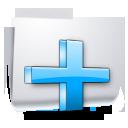 Иконка добавить файл - файл