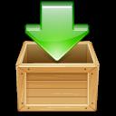 Иконка закачка - коробка, загрузка
