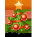 Иконка ёлка - новый год, деревья