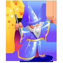 Иконка волшебник - фокусы, магия