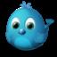 Иконка птичка twitter
