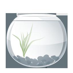 Иконка аквариум - рыбы, аквариум
