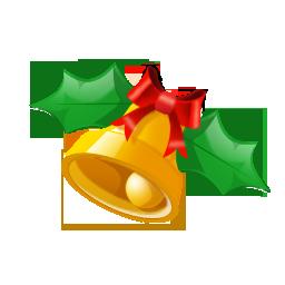 Иконка колокольчик - рождество, колокольчики