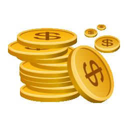 Иконка монеты - монеты, деньги