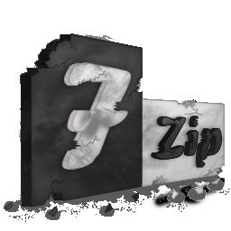 Иконка программы 7zip - архив, 7zip