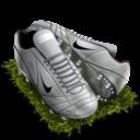 Иконка бутсы - футбол, спорт, обувь, бутсы