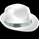 Иконка белая шляпа - шляпы, шапка