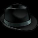 Иконка чёрная шля...
