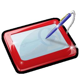 Иконка графический планшет - планшет
