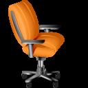 Иконка компьютерный стул