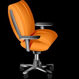 Иконка компьютерный стул - стул, мебель