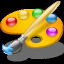 Иконка палитра - рисунок, палитра