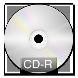 Иконка CD-R - диск, cd-r, cd