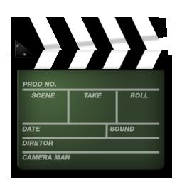 Иконка хлопушка - хлопушка, фильмы, кино