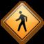 Иконка дорожный знак