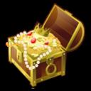 Иконка сундук с сокровищами - сундук, сокровища