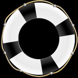 Иконка спасательный круг - помощь