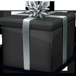 Иконка подарочная коробка - подарок, коробка