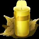 Иконка свеча - свеча, рождество