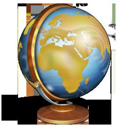 Иконка глобус - глобус