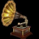 Иконка граммофон