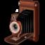 Иконка ретро фотокамера