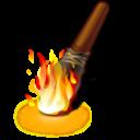 Иконка факел