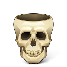 Иконка череп - череп