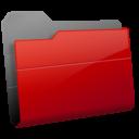 Иконка красная папка