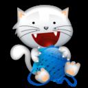 Иконка котенок с ...