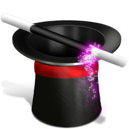 Иконка шляпа фокусника - шляпа, фокусы, магия