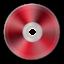 Иконка красный диск