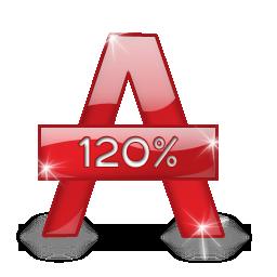 Иконка alcohol 120% - alcohol 120%