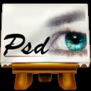 Иконка формат psd