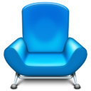 Иконка кресло - мебель, кресло