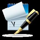 Иконка Блокнот и ручка