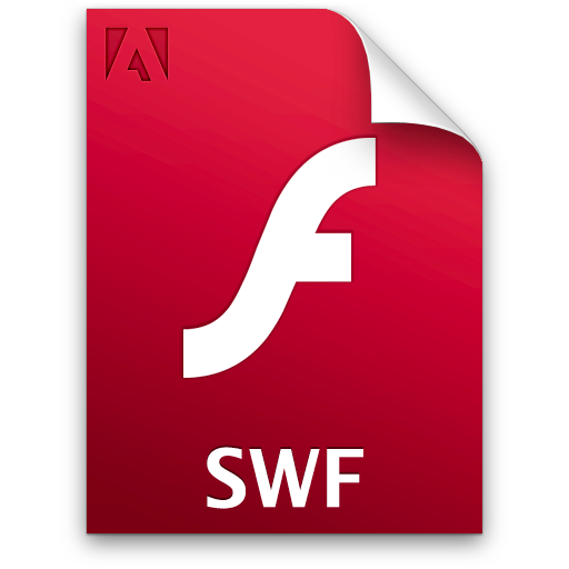 Иконка swf - swf, flash, adobe