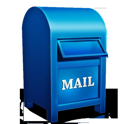 Иконка почтовый ящик - почта, mail