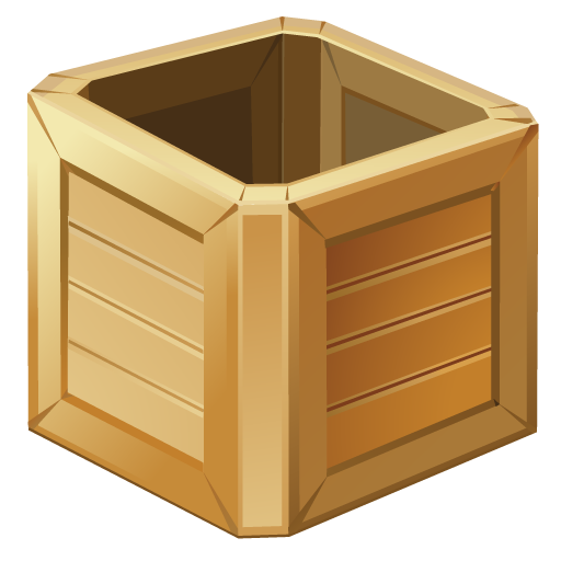 Иконка коробка - ящик, упаковка, коробка