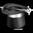 Иконка цилиндр фокусника
