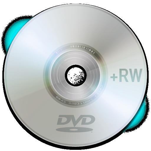 Иконка dvd rw - диск, dvd, cd