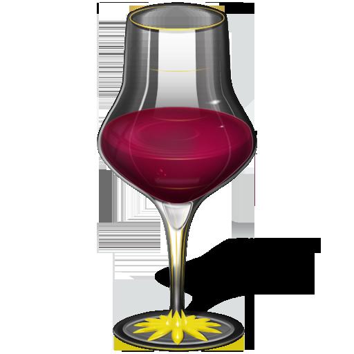 Иконка бокал - вино, бокал