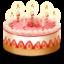 Иконка торт