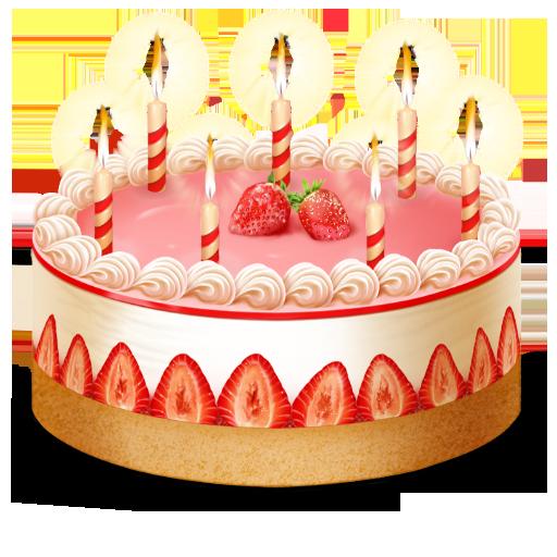 Иконка торт - торт, сладости, день рождения