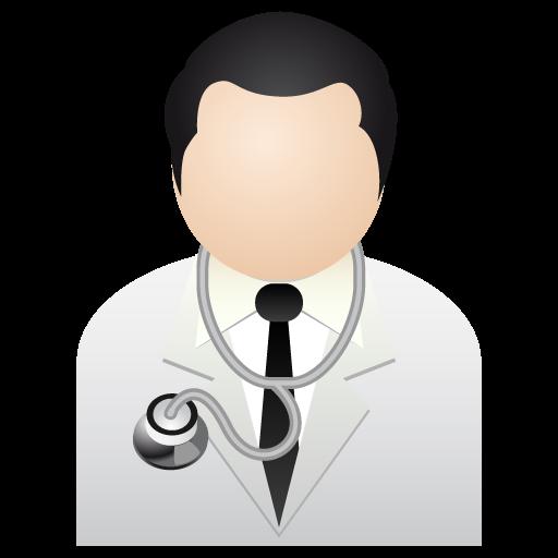 Иконка доктор - медицина, доктор, аватар