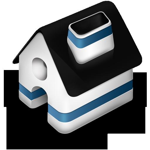 Иконка дом - здание, дом