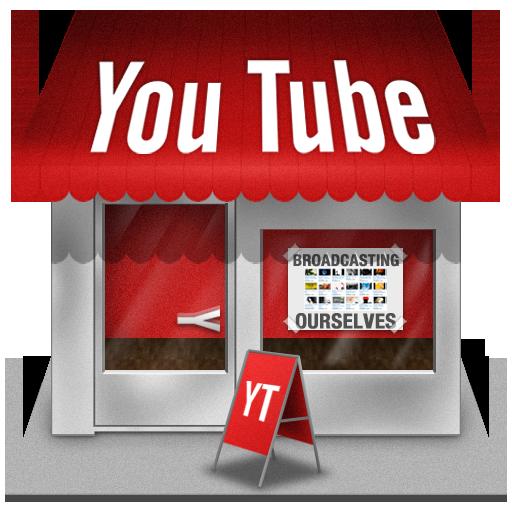 Иконка YouTube - ютуб, YouTube