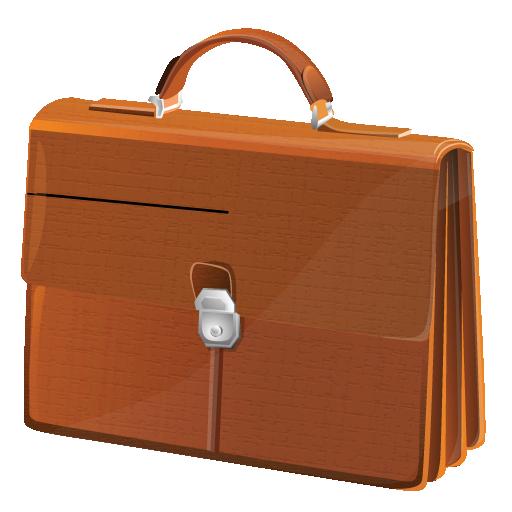 Иконка портфель - сумка, портфель