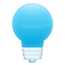 Иконка лампочка - свет, лампочка