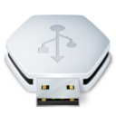 Иконка USB - флешка, usb